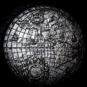 Antique world map Stock Photos