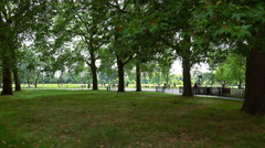 London Hyde Park Stock Footage