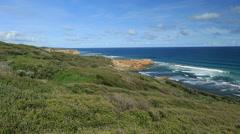 Beautiful Australian Coastline Stock Footage