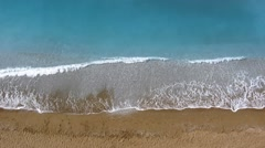 Sea waves and sand Stock Footage