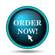 Stock Illustration of order now icon