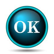 Stock Illustration of ok icon