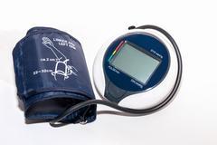 sphygmomanometer - stock photo