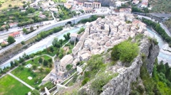 Stock Video Footage of Entrevaux, South of France