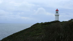 Cape Schanck Lighthouse Stock Footage