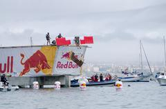 Stock Photo of cascais com asas team at the red bull flugtag