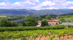 A beautiful estate in the French region of Provence. Stock Footage