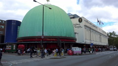Madame Tussauds in London Stock Footage