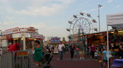 Secaucus Fair Stock Footage