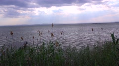 The beautiful lake of Albufera, Spain. Stock Footage