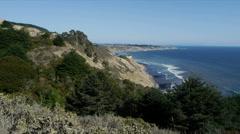 Northern California Coast - stock footage