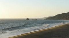 Deserted Beach Stock Footage