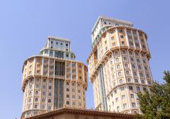 dushanbe plaza. tajikistan, dushanbe - stock photo