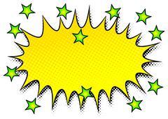 comic sound effect smash - stock illustration