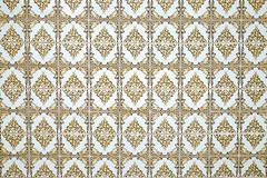 Beautiful old tiles of Portugal Stock Photos