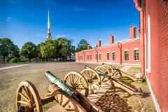 Peter and Paul fortress - stock photo