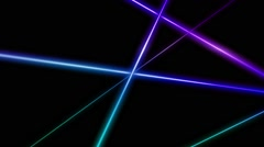Laser Boulevard VJ Loop 15 - stock footage