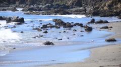 Time Lapse of the Big Sur California Coastline Stock Footage