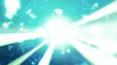 Particle Beams Loop Stock Footage