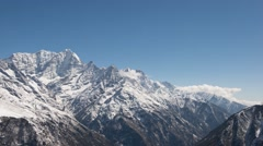 4K Timelapse Himalaya mountain Stock Footage