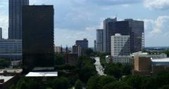 4K Atlanta Skyline Time Lapse Stock Footage