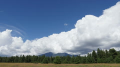 Storm Clouds Time Lapse over Humphreys Peak Stock Footage