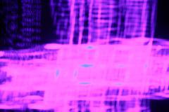 Abstract Purple Light Streaks Stock Illustration