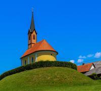 Austrian church Stock Photos