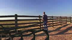 COWBOY RANCHER, vanhat laitteet Arkistovideo
