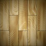 Wood floor Stock Illustration