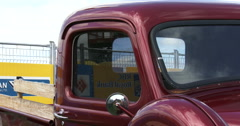 Chevrolet truck at Guelph classic car show Stock Footage