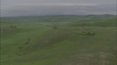 Mongolia Plains Hills Stock Footage