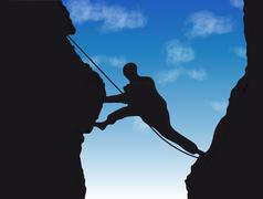 Mountaineer Stock Illustration