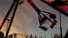 Carnival Ride 4k Stock Footage
