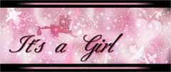 congratulatory card the birth of a girl - stock illustration