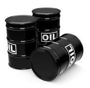 the oil drums - stock illustration