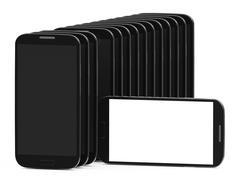 Blanket smartphone display Stock Illustration