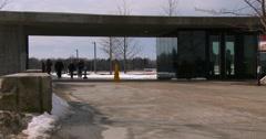 The Flight 93 National Memorial near Shanksville, Pennsylvania. Stock Footage