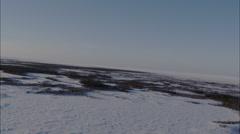 Frozen Tundra Stock Footage