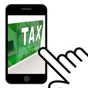 Tax on credit debit card displays taxes return irs Piirros