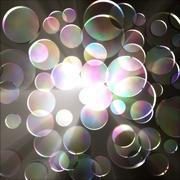 glass circle. - stock illustration