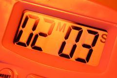 Timer clock Stock Photos