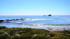 Big Sur California Coastline - Pacific Ocean Stock Footage