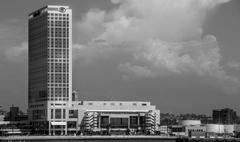 Black and White Hotel Stock Photos
