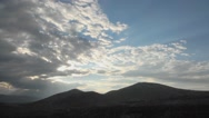 Stock Video Footage of Wide angle time-lapse of big clouds above the Peruvian Andes