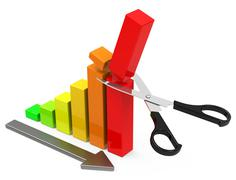 Cost-cutting Stock Illustration