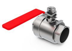 the valve - stock illustration