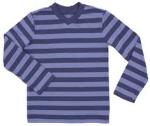 Striped sweater for children isolated on white Stock Photos