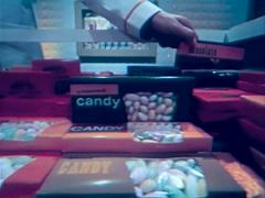 Montage Of Movie Theater Food And Assorted Candy 1950's,1960's Stock Footage