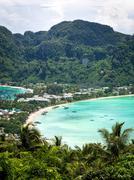 Ko Phi Phi island, Krabi Province, Thailand - stock photo